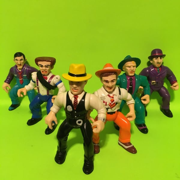 Dick Tracy Playmates 1990 Action Figure Toys 90s