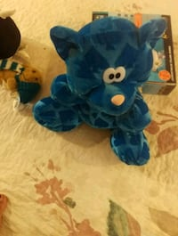 blue and white bear plush toy Georgina, L4P 3T1