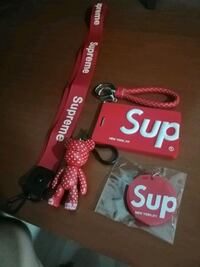 red and black Supreme iPhone case Singapore