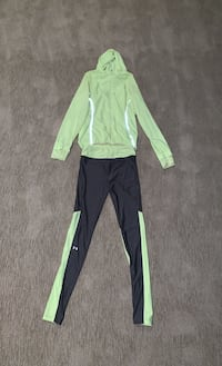 Matching fluorescent green&dark grey set Edmonton, T6W 0S2