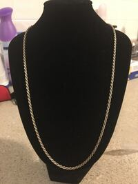 925 sterling silver 20in. rope chain necklace - PICK UP ONLY Dayton, 45405