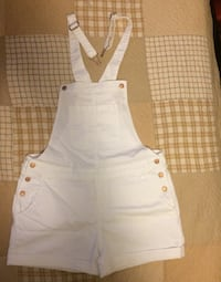 Old Navy ALL White Overalls Size: L Hyattsville, 20784