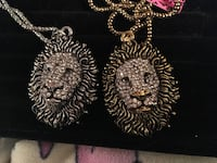 Fashion lion head necklaces $25 each Glen Burnie, 21061