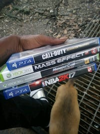 two PS4 games and two Xbox360 games Jeanerette, 70544