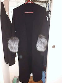 black and white fur coat Toronto, M2M 3X4