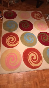 "Area rug.  Perfect for toy room or kids room.  70""X47"" Vaughan, L4H 1V8"
