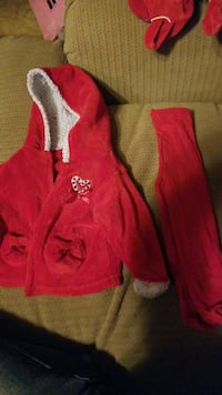 0-3 mo jacket and stockings  McConnells, 29726
