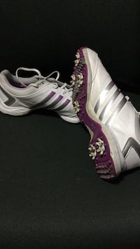 Adidas Womens Golf Shoes - Size 10 - Worn 4 times.