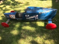 1961 Soap Box Derby Car. Built in Warren, Ohio.  Set up wheels were recently purchased for storage/display. $350.00 224 mi