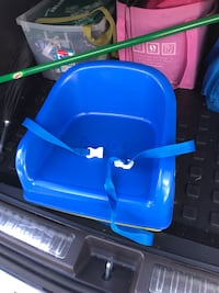 Safety Toddler booster seat and step.