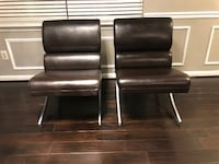 2 Modern Accent Chairs WASHINGTON