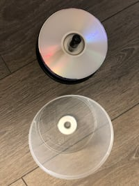 35 Blank DVDs New Westminster