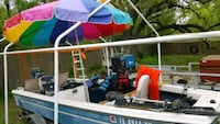 Monarch Bass Boat with 50hp Merc