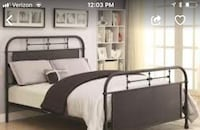 Brand new cal king bed frame.  Too big for my room so downsizing  frame only  Livermore, 94550