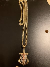 14k Solid Gold Cuban Link Chain Chicago, 60609