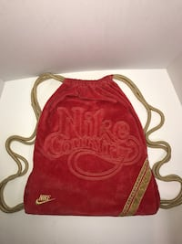 Nike Velour String Backpack Bag Milton, L9T 4K1