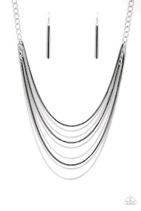 silver and black necklace Lancaster, 17602