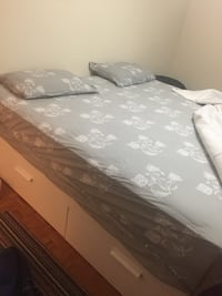 King size bed without mattress Europe size  Mississauga, L5B 1C8