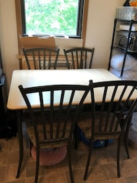 Kitchen table and chair
