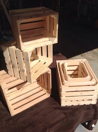 Nesting sets or individual, five dollars each this weekend, Norman, 73071