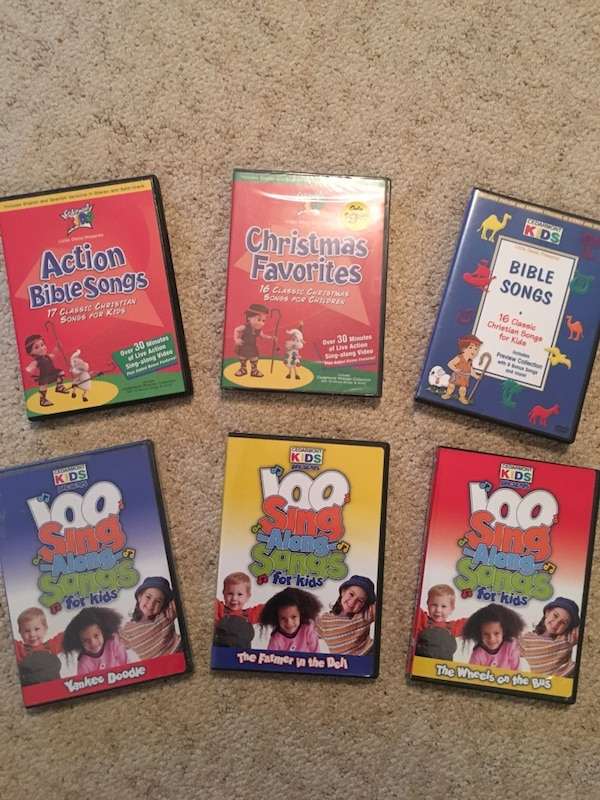 6 cedarmont kids dvds