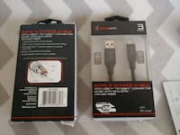 2 sync and charge cables with USBC to USBC connect Puyallup, 98373