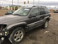 Parting out 2003 Jeep Grand Cherokee Limited 4x4 New Castle