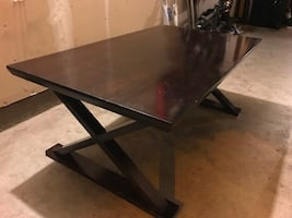 Coffee Table - Dark Stained