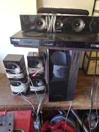 Samsung blue ray surround system and speakers