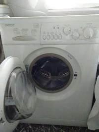 white Equator front-load clothes washer