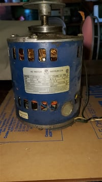 Small Electric Motor for Furnace - Used