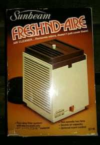 Vintage Fresh'nd Aire Air Cleaner