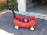 Step 2 child's wagon in very good condition 784 km