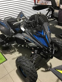 Black and blue Yamaha  [PHONE NUMBER HIDDEN] $ Miami Lakes, 33014