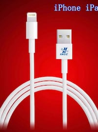New 10ft lightning to USB, iPhone charging cable premium quality fast charging