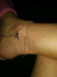 Butterfly ankle bracelet-New Las Cruces, 88007