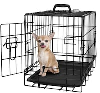 SM. Dog/Cat Crate w/ Pan  CLEAN