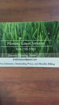 Lawn Services New Orleans