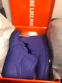 unpaired purple Air Jordan basketball shoe in box Nashville, 37013