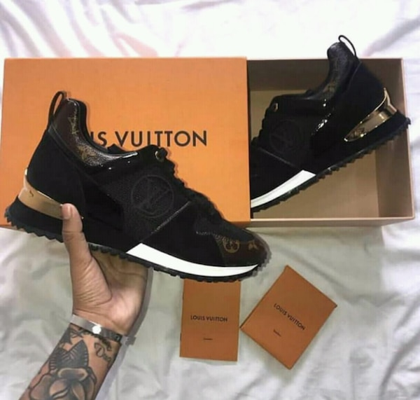 Louis Vuitton Black Boots