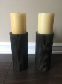 Candle holders - wood design  Richmond, V7A 3S4