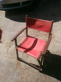 red and black metal folding chair Columbia, 29210