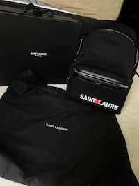 Saint Laurent City Backpack AUTHENTIC  Sterling Heights, 48314