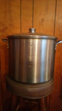 18 qt stainless steel stock pot with glass lid Sumter, 29154