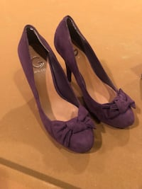 Guess size 9 purple heels Baltimore, 21220