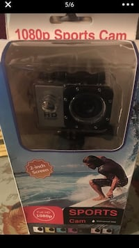"SPORT CAM MINI 2"". 'Waterproof '"