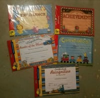 Award certificate packs  Racine, 53402