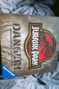 Collectable jurassic park board game