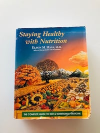Staying healthy with nutrition textbook