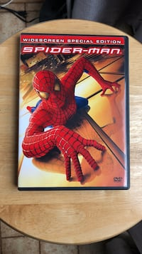 Spider-Man DVD Movie Laurel